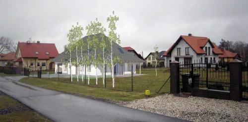 Dom jednorodzinny projekt budowlany