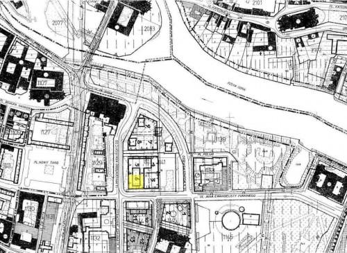 sytuacja urbanistyczna – lokalizacja działki