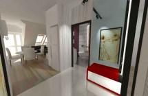 Wnętrza mieszkania 51m2