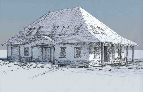 Dom jednorodzinny w Lubinie projekt wykonawczy
