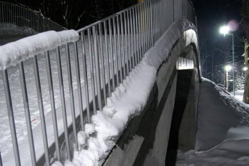Jamrozowa Polana Duszniki Zdrój – trasa biathlonowa, zdjęcie mostu